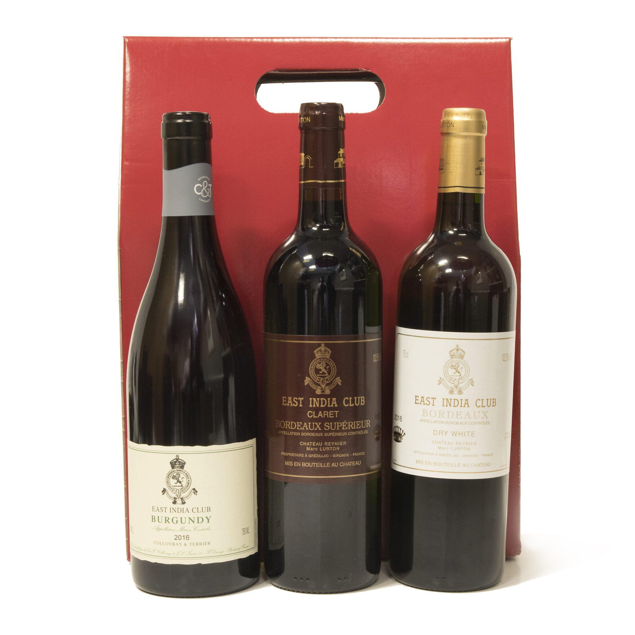 East India Club Wine Gift Box